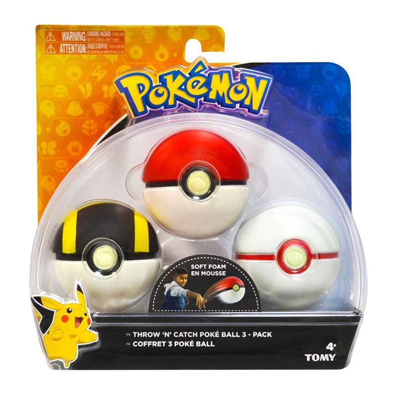 Kit Pokémon com 3 Pokébolas Pikachu 1962 - Sunny