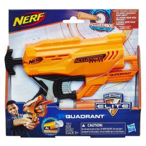 Lançador de Dardos Nerf Accustrike Quadrant Hasbro