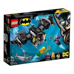 Lego Batsubmarino de Batman e o Confronto Subaquático - 76116