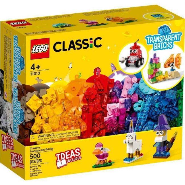 Lego Classic Blocos Transparentes Criativos 500 Peças 11013
