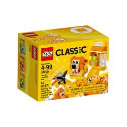 Lego Classic Caixa De Criatividade Laranja 60 Peças 10709