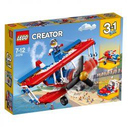 Lego Creator Aviao De Acrobacias Ousadas 31076
