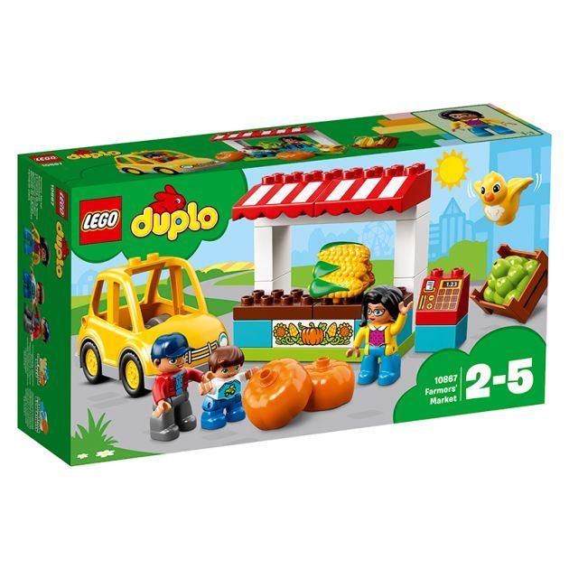 Lego Duplo Mercado De Fazendeiros 0867
