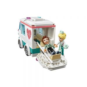 Lego Friends Hospital Heartlake City 379 Peças 41394