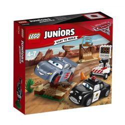 Lego Juniors Carros 3 - Treino De Velocidade 10742
