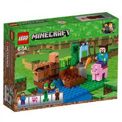 Lego Minecraft A Fazenda Dos Melões 21138