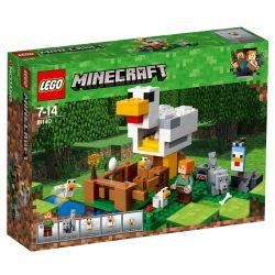 Lego Minecraft O Galinheiro 21140