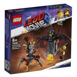 Lego Movie Batman e Barba de Ferro Prontos para Combate - 70836