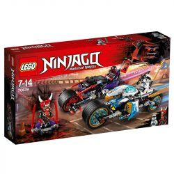 Lego Ninjago A Corrida De Rua De Serpente Jaguar 70639