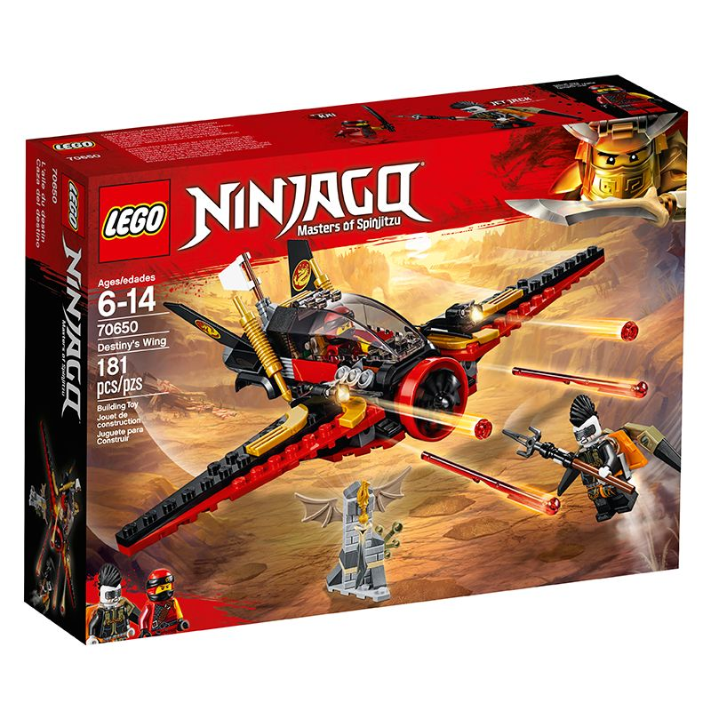 Lego Ninjago Asa Do Destino 70650