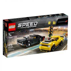 Lego Speed Champions Dodge SRT Demon 2018 e Dodge Charger R/T - 75893