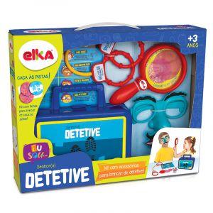 Maleta Kit Detetive Dpa Infantil 7 Peças Elka