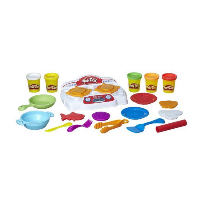 Massinha de modelar Play Doh Comidinhas no Fogão - Hasbro