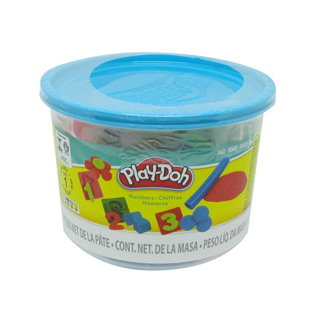 Massinha Play Doh Mini Balde Números Hasbro
