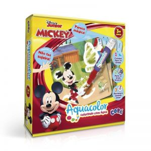 Mickey Aquacolor Colorindo com Água Disney Junior Toyster