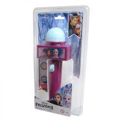 Microfone Infantil com Eco e Luz Roxo Disney Frozen - Toyng