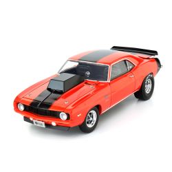 Miniatura Chevy Camaro 1969 Laranja 1:18 Highway 61 Collectibles