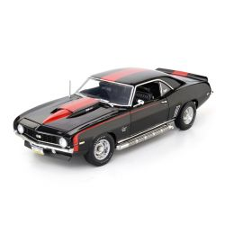 Miniatura Chevy Camaro 1969 Preto 1:18 Highway 61 Collectibles
