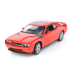 Miniatura Dodge Challenger R/T 2010 Vermelho 1:18 Highway 61 Collectibles