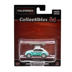 Miniatura Volkswagen Beetle 1946 1:64 Série 2 California Collectibles