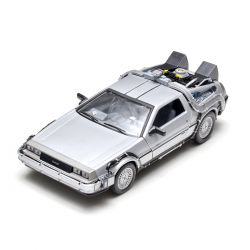 Miniatura Delorean Time Machine Back To The Future I 1:24 Welly