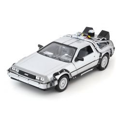 Miniatura Delorean Time Machine Back To The Future II 1:24 Welly