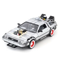 Miniatura Delorean Time Machine Back To The Future III 1:24 Welly