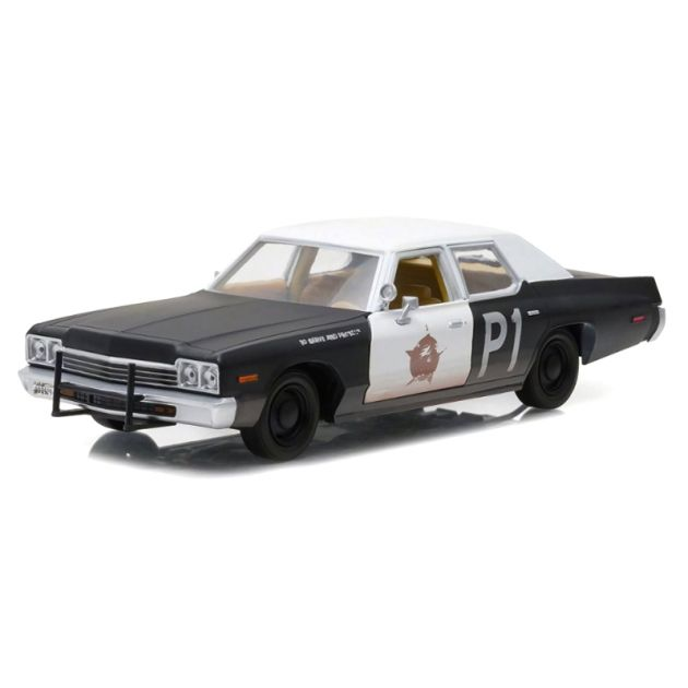 Miniatura Dodge Monaco 1974 Blues Brothers 1:24 Greenlight