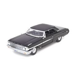 Ford Galaxie 500 1964 Mib Homen De Preto 1:18 Greenlight