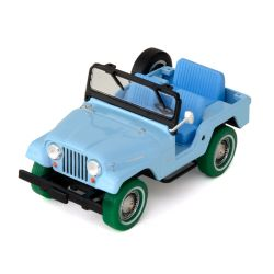 Miniatura Jeep CJ 5 Sierra Blue Elvis Presley 1963 1:43 Greenlight
