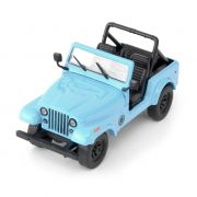 Miniatura Jeep CJ 7 Dharma Série Lost 1977 1:43 Greenlight