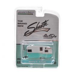 Miniatura Trailer Shasta 15' Airflyte 1:64 Greenlight