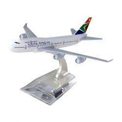 Miniatura Boeing 747 South African 15 Cm Hb Company