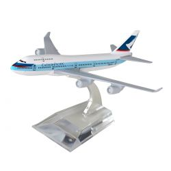 Miniatura Boeing 747 Cathay Pacific 15 Cm Hb Company