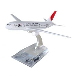 Miniatura Boeing 777 Jal Japan Airlines 15 Cm Hb Company