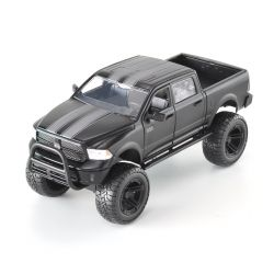 Miniatura Dodge Ram Off Road 2014 Preto Fosco 1:24 Jada Toys