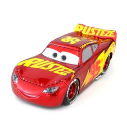 Miniatura Rust-Eze Racing Center Lightning Mcqueen Carros 3 Disney 1:24 Jada Toys