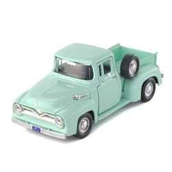 Miniatura Ford F 100 Pick Up 1955 Verde 1:24 Motormax