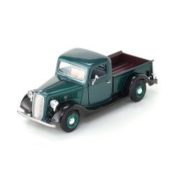 Miniatura Ford Pick Up 1937 Verde 1:24 Motormax