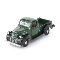 Miniatura Plymouth Pick Up 1941 Verde 1:24 Motormax