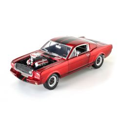 Miniatura Shelby GT350R 1965 Vermelho Metálico 1:18 Shelby Collectibles