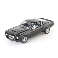 Miniatura Shelby GT 500 Super Snake 1967 Preto 1:18 Shelby Collectibles