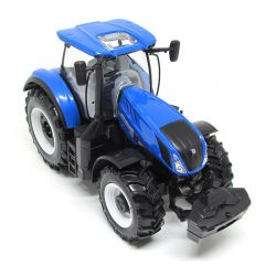 Miniatura Trator New Holland T7 1:32 Bburago