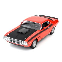 Miniatura Dodge Challenger T/A 1970 1:24 Welly
