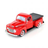 Miniatura Ford F1 Pick Up 1948 Vermelha 1:18 Yat Ming