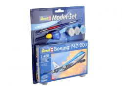 Kit de Montar Model Set Boeing 747-200 1:450 Revell