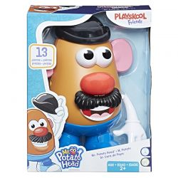 Mr. Potato Head Sr. Cabeça De Batata Novo Visual Hasbro