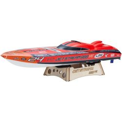 Nautimodelo Kyosho 1:15 Rc Ep Rs Jetstream 888 Ve Laranja Rádio Kt231P