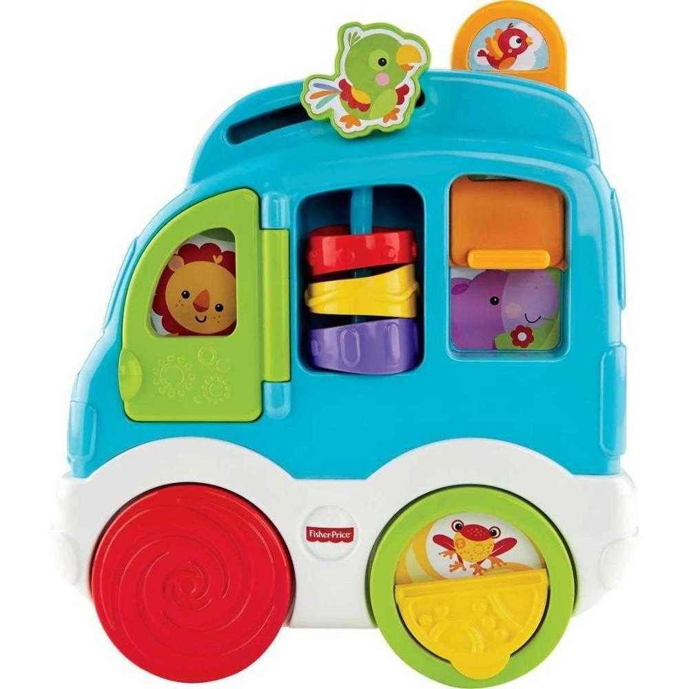 Painel de Atividades Novos Sons Divertidos Carrinho Fisher-Price Mattel