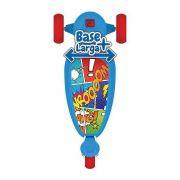 Patinete Skatenet Kid Azul com Freio 3 Rodas - Bandeirante